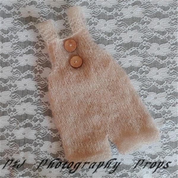[해외]귀여운 핸드 메이드 모헤어 험프 포토 소품/Cute Handmade Mohair Romper Photo props