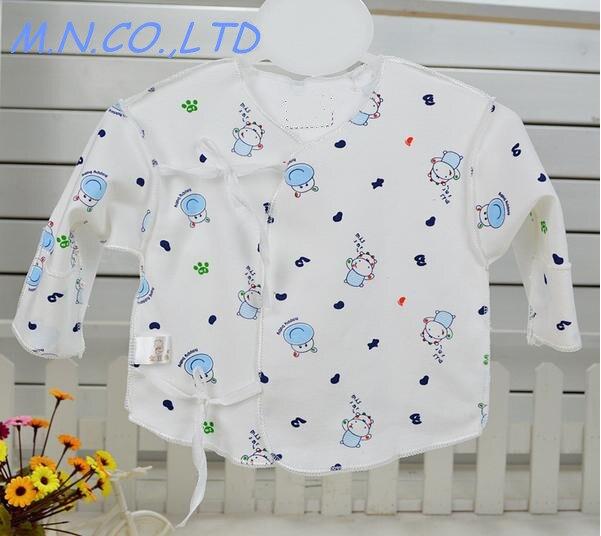 [해외]New born Babys tie coat Underwear 100% cotton 0-3months   1pc Grooming & Healthcare Kits 007/New born Babys tie coat Underwear 100% cott