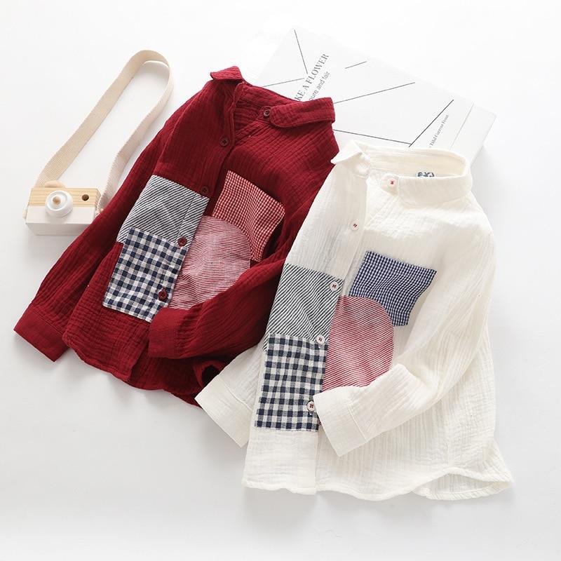 [해외]어린이 셔츠 가을 boysleisure 면화 셔츠 아동복 도매/어린이 셔츠 가을 boysleisure 면화 셔츠 아동복 도매