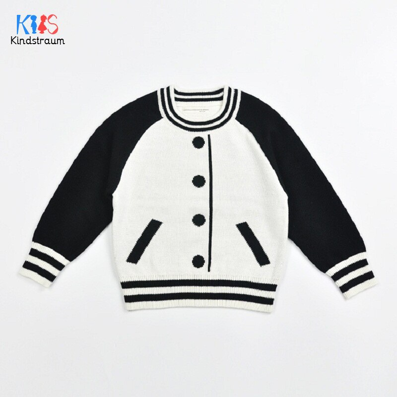 [해외]Kindstraum 2018 가을 어린이 코 튼 스웨터 소년 & 소녀 전체 슬리브 착용 패션 패턴 옷 키즈, rc1558