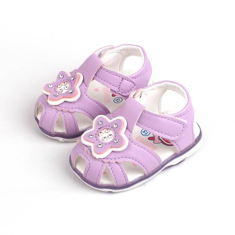 [해외]여름 아기 신발 0-3 세 아기 소녀 샌들 아름다운 별 패턴 어린이 신발 부드러운 바닥 신생아 유아 신발/여름 아기 신발 0-3 세 아기 소녀 샌들 아름다운 별 패턴 어린이 신발 부드러운 바닥 신생아 유아 신발