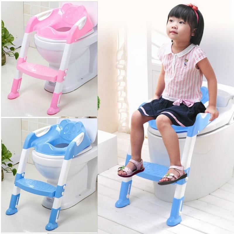 [해외]단계 의자 화장실 훈련 안전 의자 좌석을 가진 휴대용 아이 사소한 훈련 좌석 아이 접히는 단계 의자를위한 조정 가능한 사다리/단계 의자 화장실 훈련 안전 의자 좌석을 가진 휴대용 아이 사소한 훈련 좌석 아이 접히는 단계 의자를위한 조정 가능한