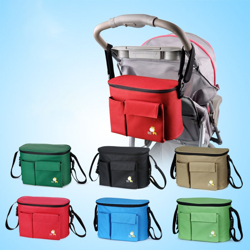 [해외]Insular Multifunctional Mommy Insulation Bag Liner Waterproof Insulation Small Space High Capacity Cart Accessories Insulation/Insular Multifuncti