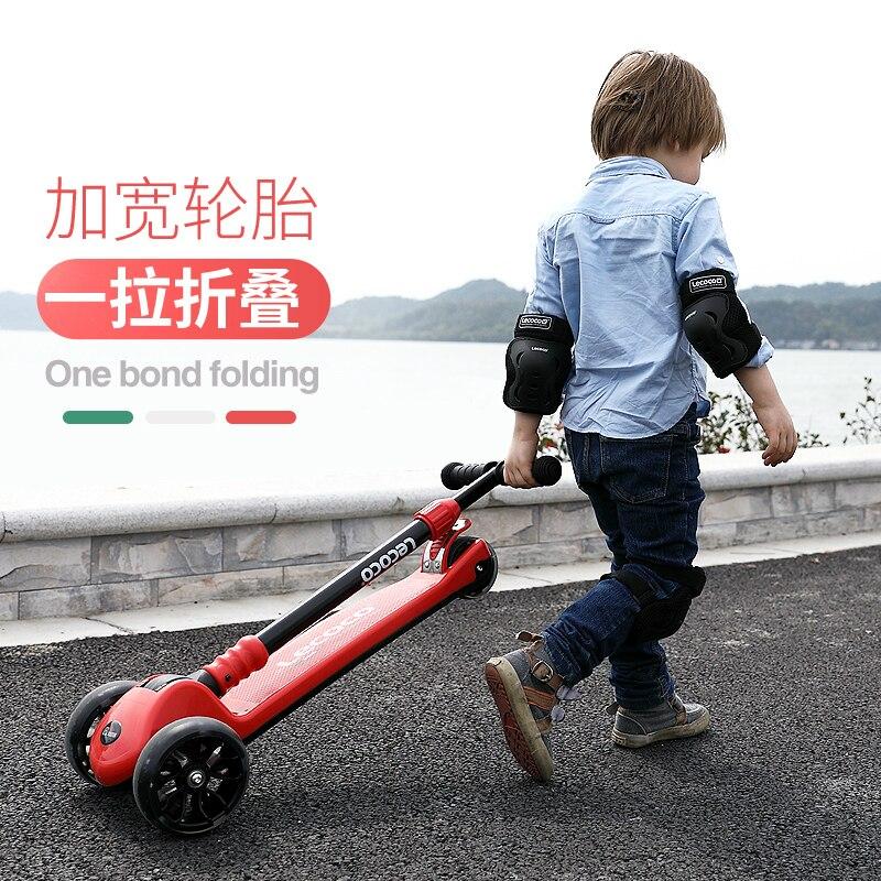 [해외]어린이 2-3-6 세 세발 자전거 플래시 스케이트 드레이 어린이 세 바퀴 균형 자동차 아기 스쿠터 롤러 풀리/어린이 2-3-6 세 세발 자전거 플래시 스케이트 드레이 어린이 세 바퀴 균형 자동차 아기 스쿠터 롤러 풀리