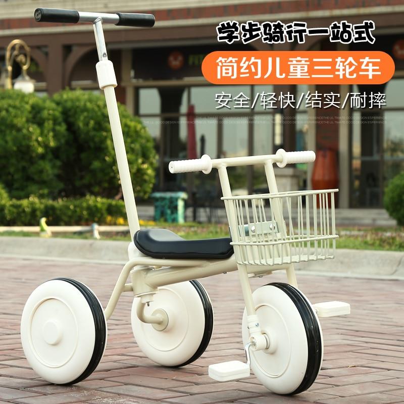 [해외]베이비 푸시로드 유모차 1-3 세 일본 어린이 세발 자전거 복고풍 trike 간단한 인도-무료/베이비 푸시로드 유모차 1-3 세 일본 어린이 세발 자전거 복고풍 trike 간단한 인도-무료