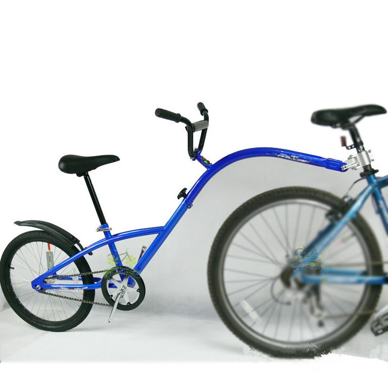 [해외]20 인치 산악 자전거 트레일러, 스틸 프레임 탠덤 자전거 트레일러, 에어 휠, 패션 부모-자식 자동차와 공동 파일럿 자전거 트레일러/20 인치 산악 자전거 트레일러, 스틸 프레임 탠덤 자전거 트레일러, 에어 휠, 패션 부모-자식 자동차와 공동