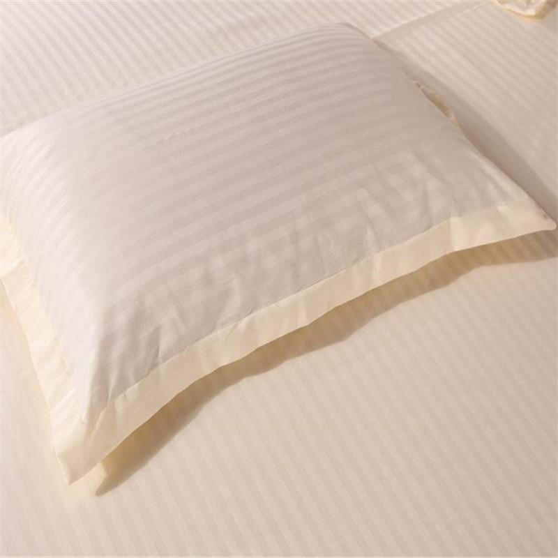 [해외]/pure color solid 1piece Pillow Cover 100% Cotton Pillowcase satin single Pillow Case   48x74cm 48x120cm 48x150cm