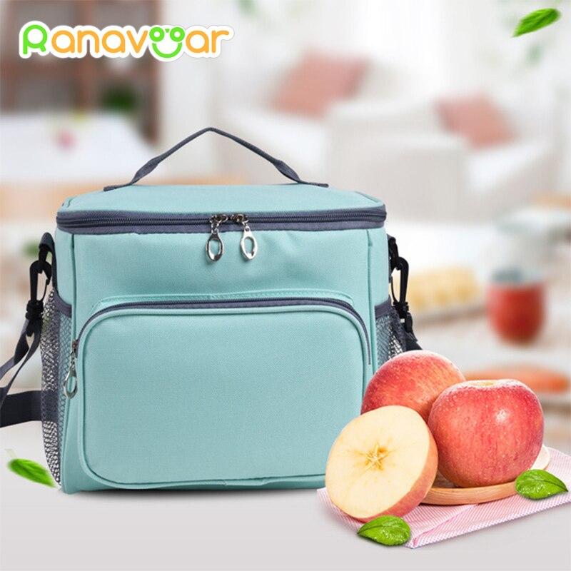 [해외]/Large Capacity Breast Milk Insulation BagStrap Lunch Bag for Steak Insulation Thermal Bag Insulation Ice Pack Waterproof