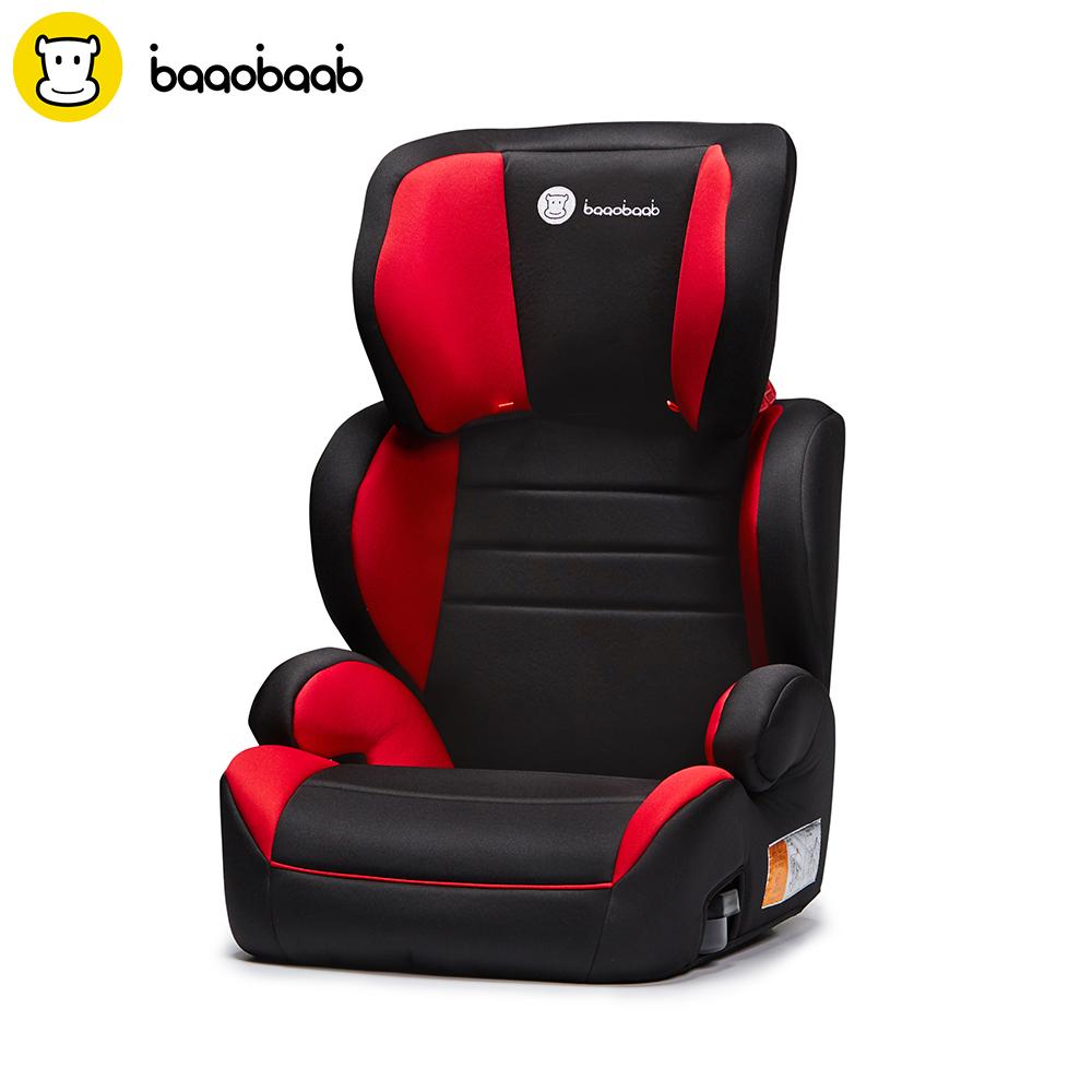 [해외]BAAOBAAB 2-in-1 부스터 카 시트 그룹 2/3 (15-36 kg) 가변 벨트 식 위치 조절 높은 등받이 어린이 안전 시트 4-12 세/BAAOBAAB 2-in-1 Booster Car Seat Group 2/3 (15-36 kg) Adjustable