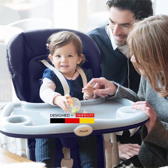 [해외]파우치 유럽식 아기 식사 의자 어린이 & 다기능 아기 높은 의자 접이식 식탁 및 유아용 의자/Pouch European baby dining chair children&s multifunctional baby high chair folding portab