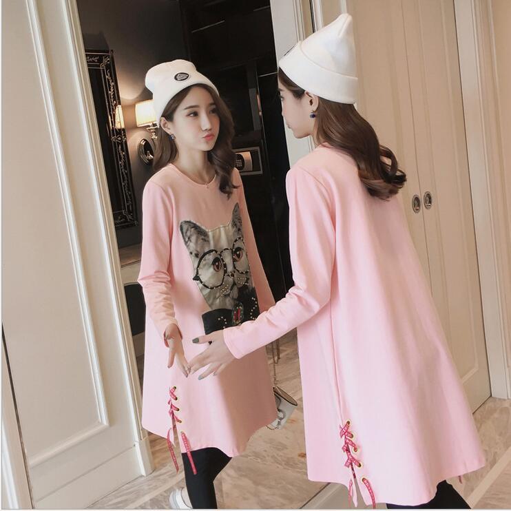 [해외]출산 드레스 2017 가을 일본의 새로운 면화와 린넨 임산부 드레스 패션 레이스 레이스 칼라 드레스/Maternity dress 2017 autumn Japanese new cotton and linen pregnant women dress fashion lac