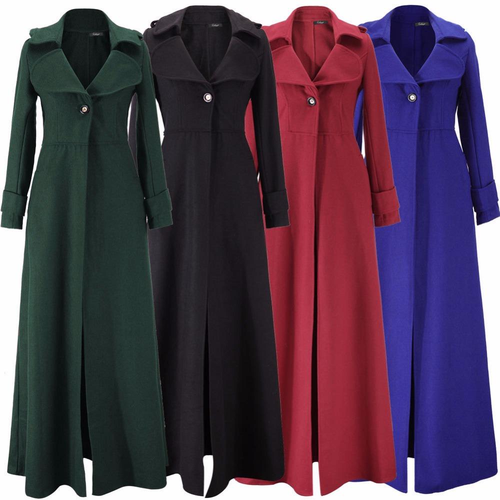 [해외]여자 코트, 좋은 품질의 여성 하이 웨이스트 오버 코트, XXL 대형 옷, 플러스 긴 트렌치 코트/New arrival woman coat, good quality female High waist overcoat,XXL large size clothes, plu