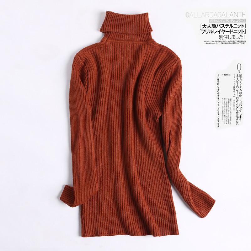[해외]여자 겨울 스웨터 2017 임신 한 여자를두꺼운 편직 된 터틀넥 스웨터 셔츠 임신 용 스웨터 의류 8010/Women Winter Sweaters 2017 Autumn Thick Knitted Turtleneck Sweater Shirts Maternity Sw