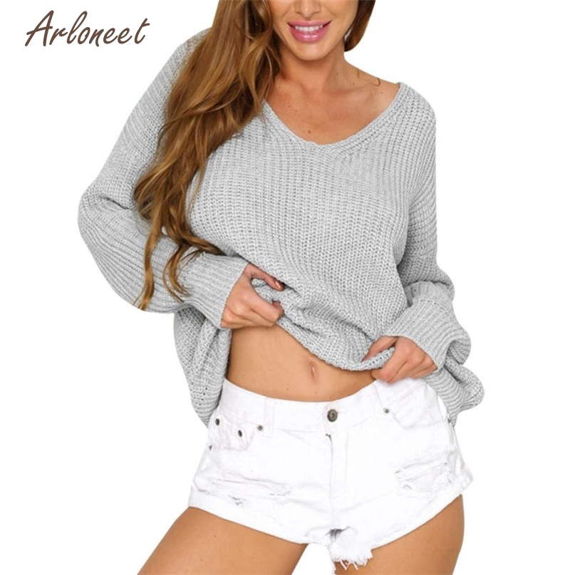 [해외]TELOTUNY 패션 4 색 여성 캐주얼 단색 긴 Retail 니트 배킹 붕대 스웨터 탑스 블라우스 2017 Hot 드롭 출하 OB19/TELOTUNY Fashion 4 Colors Women Casual Solid Long Sleeve Knitted Backl