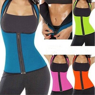 [해외]패션 여성 네오프렌 바디 셰이퍼 슬리밍 허리 슬림 벨트 피트니스 요가 조끼 티셔츠 여성 의류 shapewear/Fashion Women Neoprene Body Shaper Slimming Waist Slim Belt Fitness Yoga Vest T-shir
