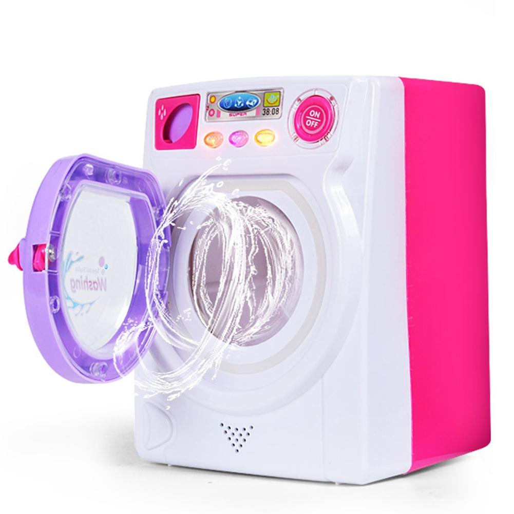 [해외]LeadingStar 아이들 놀이 집 게임 장난감 시뮬레이션 세탁기 전기 ToyLight 소리 zk30/LeadingStar Children Play House Game Toy Simulation Washing Machine Electric ToyLight So