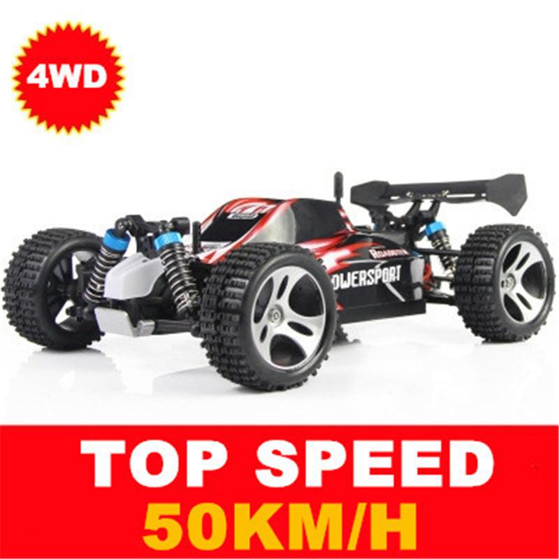 [해외]2016 새로운 고속 45kg / h 스턴트 RC 레이싱 카 2.4G 4CH 샤프트 드라이브 RC 자동차 원격 제어 슈퍼 파워 오프로드 차량 장난감 자동차/2016 new High Speed 45kg/h Stunt rc Racing Car 2.4G 4CH Sha