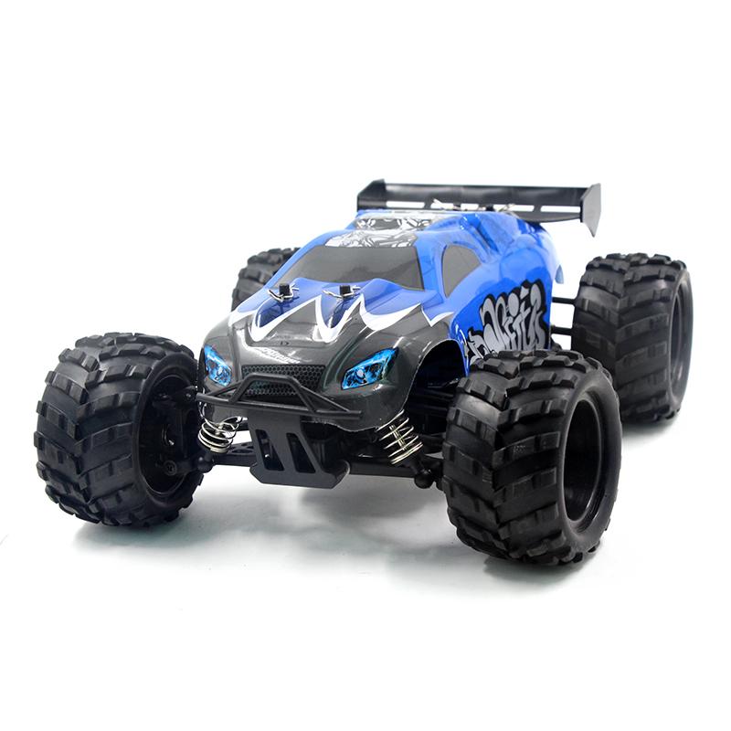 [해외]EBOYU (TM) G18-1 2.4Ghz 4WD 고속 1:18 RC 고속 몬스터 트럭 RC 레이싱 카 고속 레이스 버기 취미 RC 카/EBOYU(TM) G18-1 2.4Ghz 4WD High Speed 1:18 RC Car High-speed Monster T