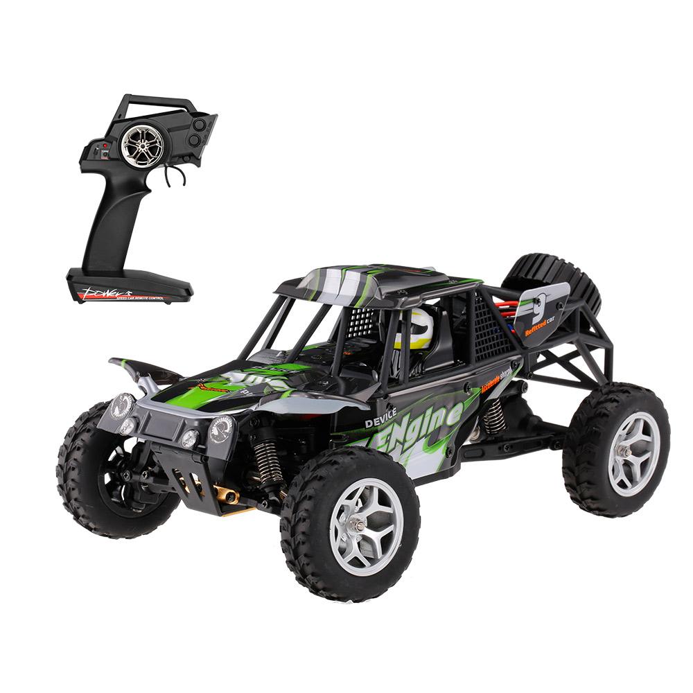 [해외]WLtoys 18429 2.4G 1:18 규모 4WD 튀는 방수 전기 RTR 사막 버기 RC 자동차 고속 원격 제어 자동차/WLtoys 18429 2.4G 1:18 Scale 4WD Splashing Waterproof Electric RTR Desert Bug