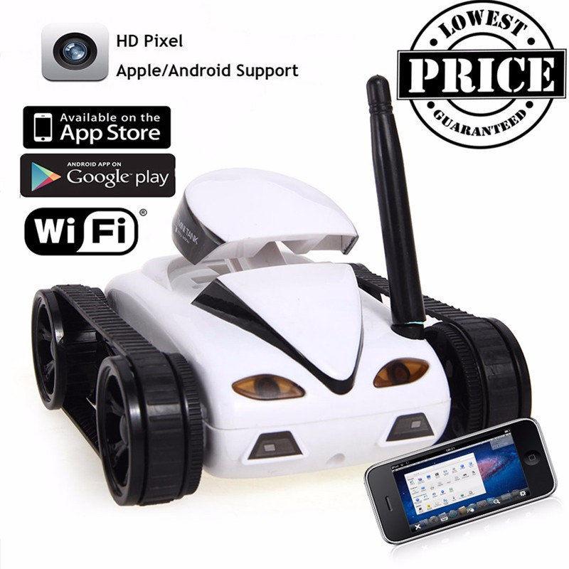 [해외]WiFi 원격 제어 탱크 자동차 카메라 비디오 녹화? ? ???? ?? IOS 선물 장난감 다기능 야외에 적합/WiFi Remote Control Tank Car Camera Video Recording for 안드로이드&IOS Gift Toy Multi