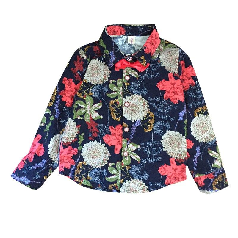 [해외]Children`s wear boy`s shirt long sleeve 2018 spring autumn new  pure cotton young  fashionable dress/Children`s wear boy`s shirt long sleeve 2018