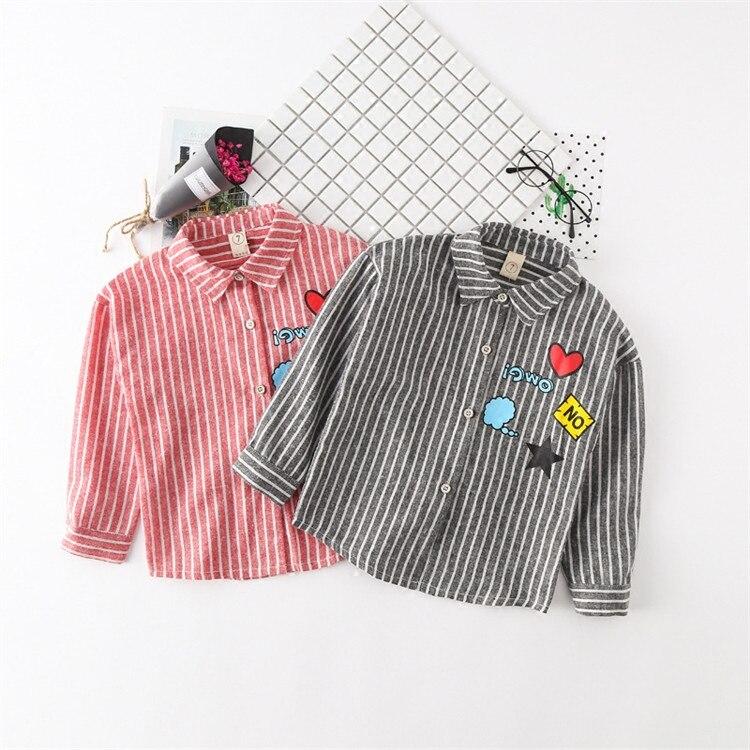 [해외] The new girl children`s wear cartoon shirt girla Korean version/ The new girl children`s wear cartoon shirt girla Korean version