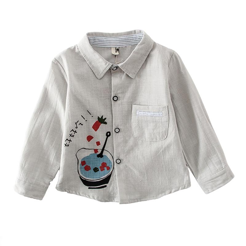 [해외]린넨 셔츠 아기/린넨 셔츠 아기