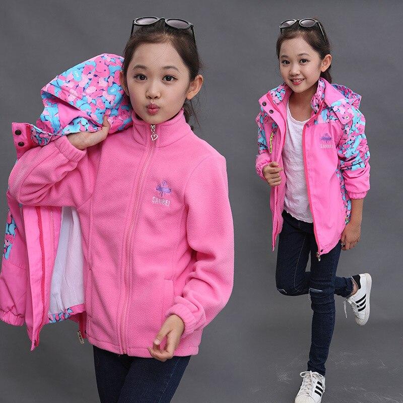 [해외]Spring and winter 2019 new children`s three-in-one outdoor children`s wear/Spring and winter 2019 new children`s three-in-one outdoor children`s w