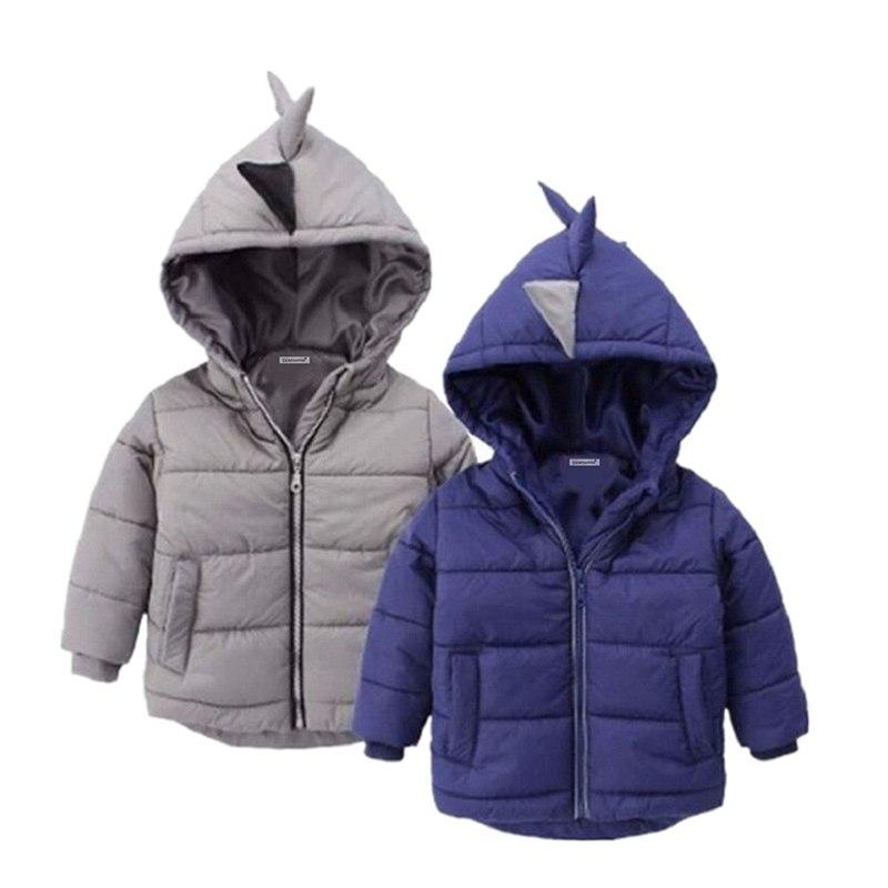 [해외]새로운 겨울 소년 재킷 아기 소년과 소녀 코트 따뜻한 아이 옷을 따뜻하게 후드 소년 코트 아래로 어린이 의류