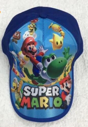 1pcs 슈퍼 마리오 패션 태양 모자 마리오 캐주얼 코스프레 야구 모자 선물 t5