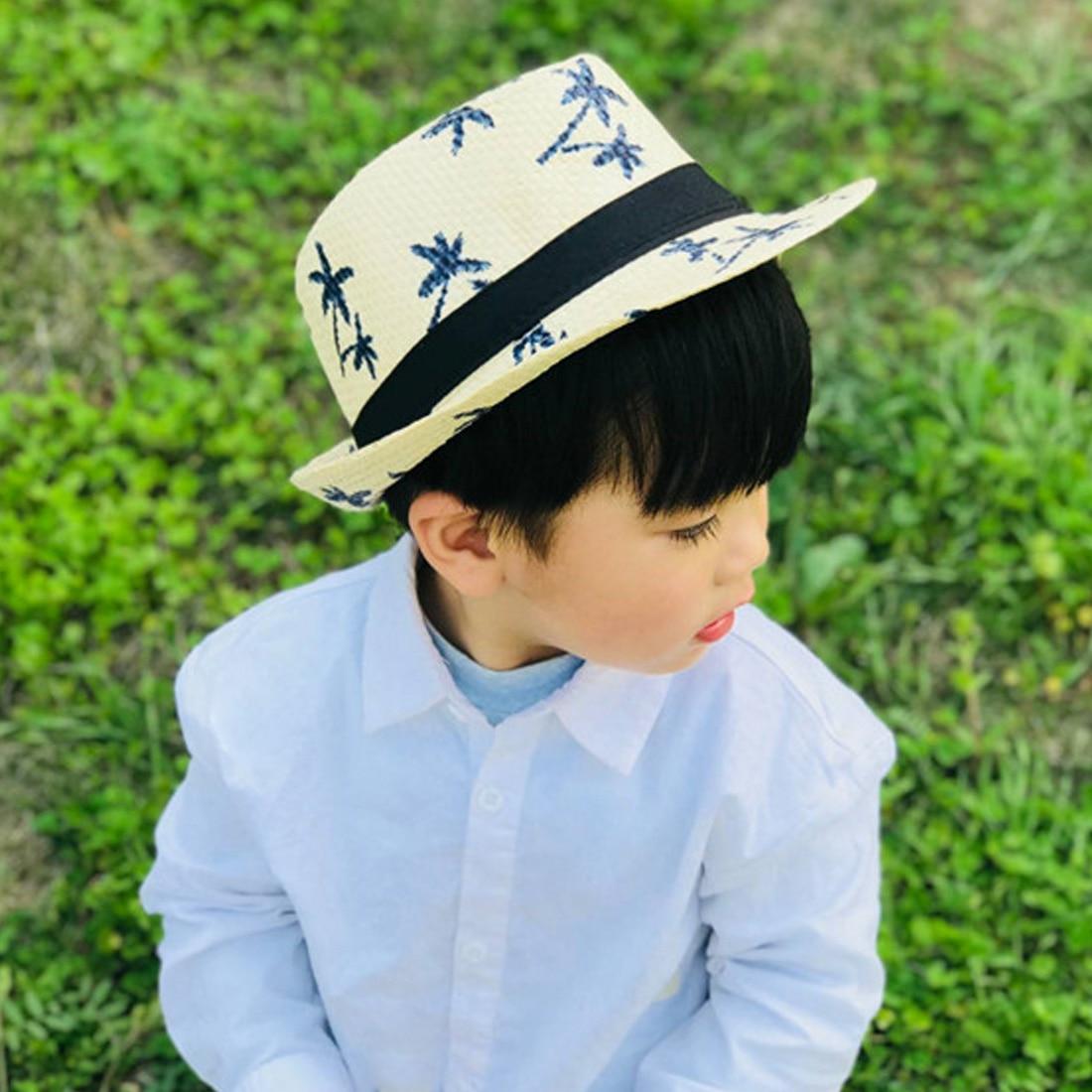 [해외]남자를위한 밀짚 태양 모자 여름 달콤한 레트로 아이 밀짚 모자 비치 보이 태양 모자 여행 모자/남자를위한 밀짚 태양 모자 여름 달콤한 레트로 아이 밀짚 모자 비치 보이 태양 모자 여행 모자