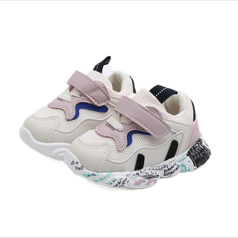 [해외]2019 신생아 및 아기 신발 통기성 야외 소녀 신발 부드러운 밑창이있는 운동화 미끄럼 방지 유아 어린이 신발/2019 신생아 및 아기 신발 통기성 야외 소녀 신발 부드러운 밑창이있는 운동화 미끄럼 방지 유아 어린이 신발