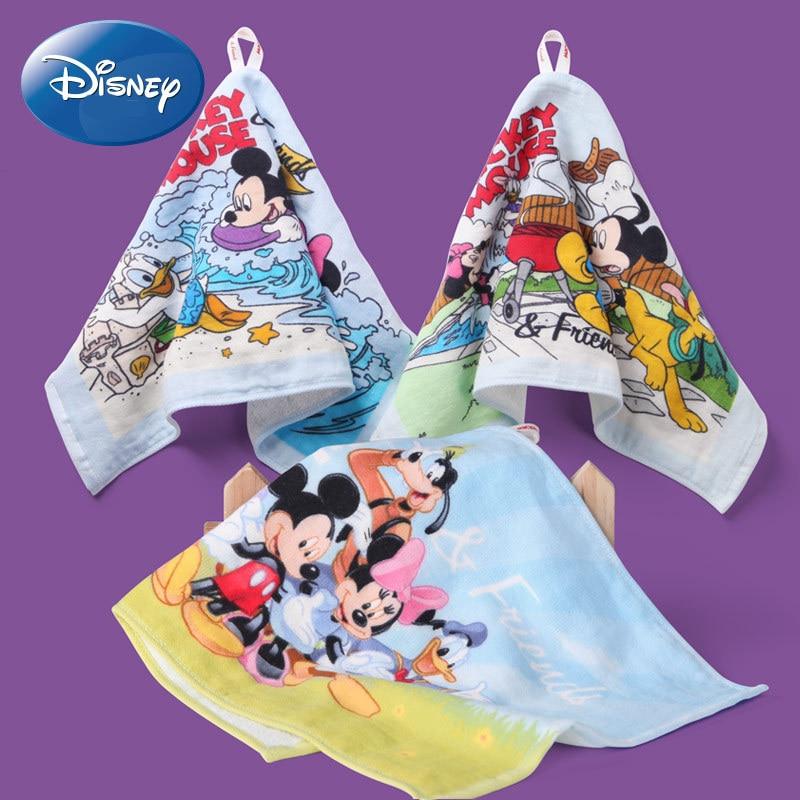 [해외]디즈니 미키 만화 패턴 거즈 어린이 부드러운 수건 코튼 마우스 어린이 작은 손수건 타월/디즈니 미키 만화 패턴 거즈 어린이 부드러운 수건 코튼 마우스 어린이 작은 손수건 타월