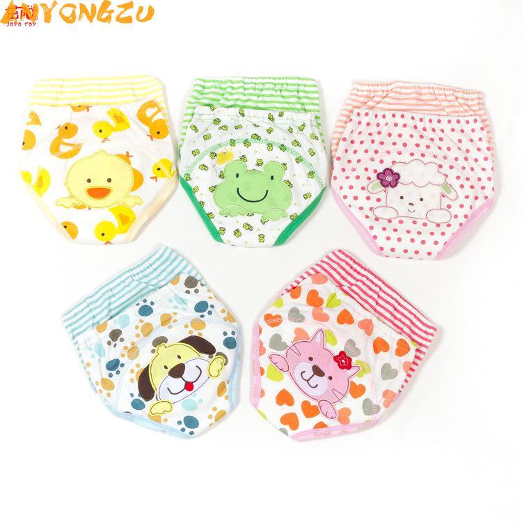[해외]6PCS Anyongzu UniLabs 바지 9-16Kg 새로운 아기 학습 바지 수 방수 소변 기저귀 Septum 90 100 110/6PCS  Anyongzu UniLabs Pants 9-16Kg  New Baby Learning Pants Can Waterp