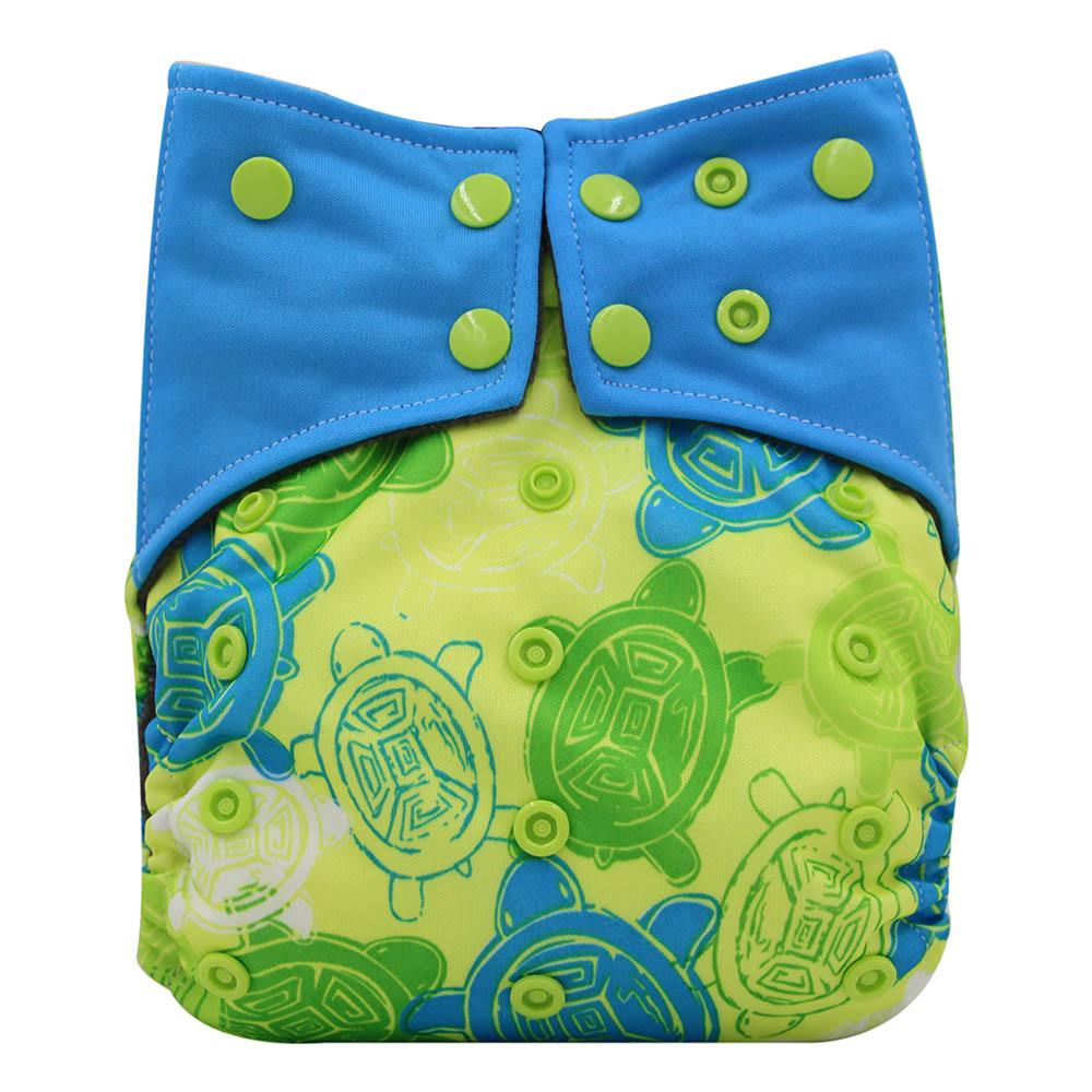 [해외]Ohbabyka AI2 베이비 천 기저귀 조절 식 기저귀 커버 세척 가능 방수 재사용 가능 기저귀 소송 0-2 년 3-15kg/Ohbabyka AI2 Baby Cloth Diapers Adjustable Diaper Cover Washable Waterproof