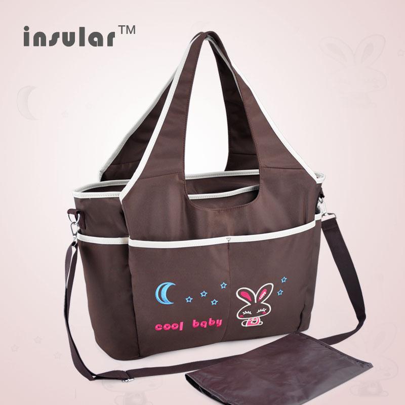 [해외]2014 만화 아기 기저귀 가방 만화 자수 엄마 가방  기저귀?? 가방/2014 New Arrival  Cartoon Baby Diaper Bag Cartoon Embroidery  Mommy Bags Antimicrobial Nappy Bags