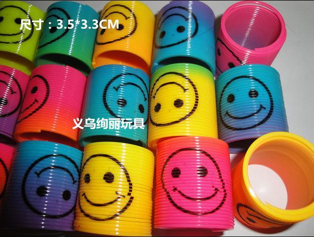 [해외]72pcs / lot 만화 미소 얼굴 봄 동그라미, 무지개보고, 무지개 수건, 아이 교육 장난감/72pcs/lot cartoon smile face spring circle colorful,rainbow looking, rainbow towel, kids edu
