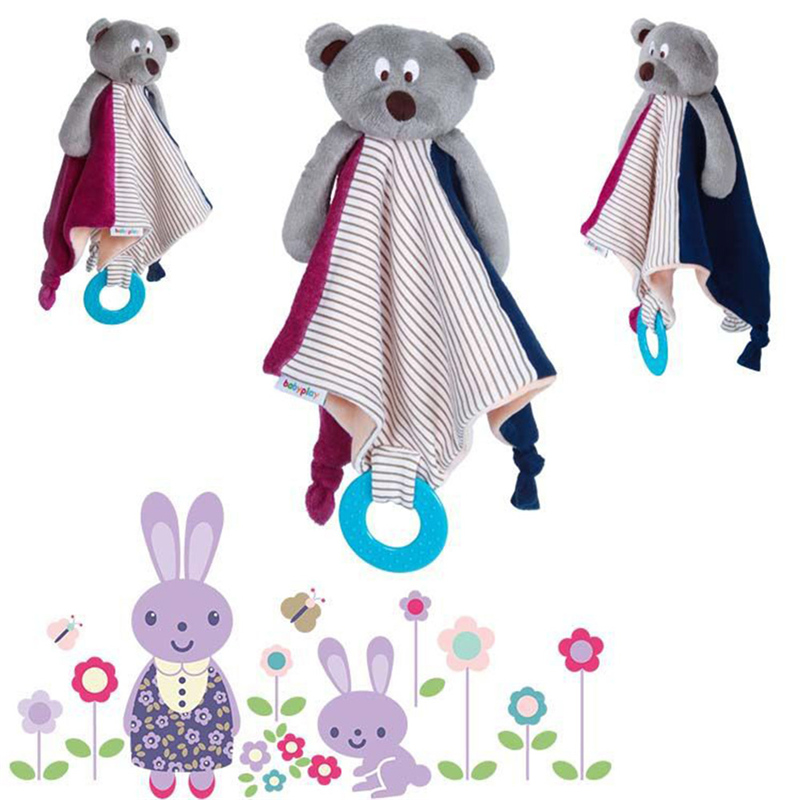 [해외]새로운 만화 타월 blibs 베이비 베어 스퀘어 타월 교육 doll teether 유혹 타올 for baby care/New cartoon towel blibs Baby Bear Square Towel Educational DollTeether Appeasing