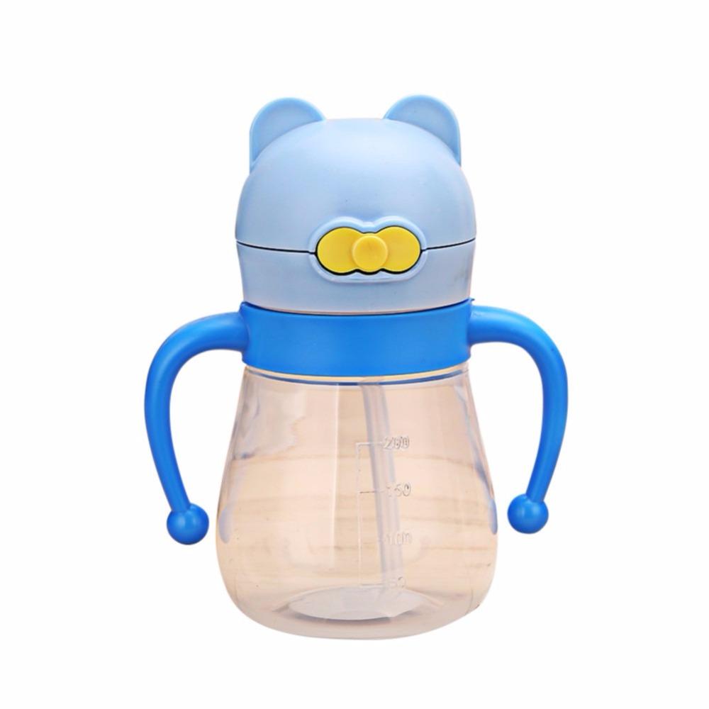 [해외]WEIXINBUY 200ml 유아용 물 귀여운 고양이 병 교육용 컵 아이들을Learn DrinkingHandle / Strap Sippy No-spill Kids Sipp/WEIXINBUY 200ml Baby Water Cute Cat Bottles Traini