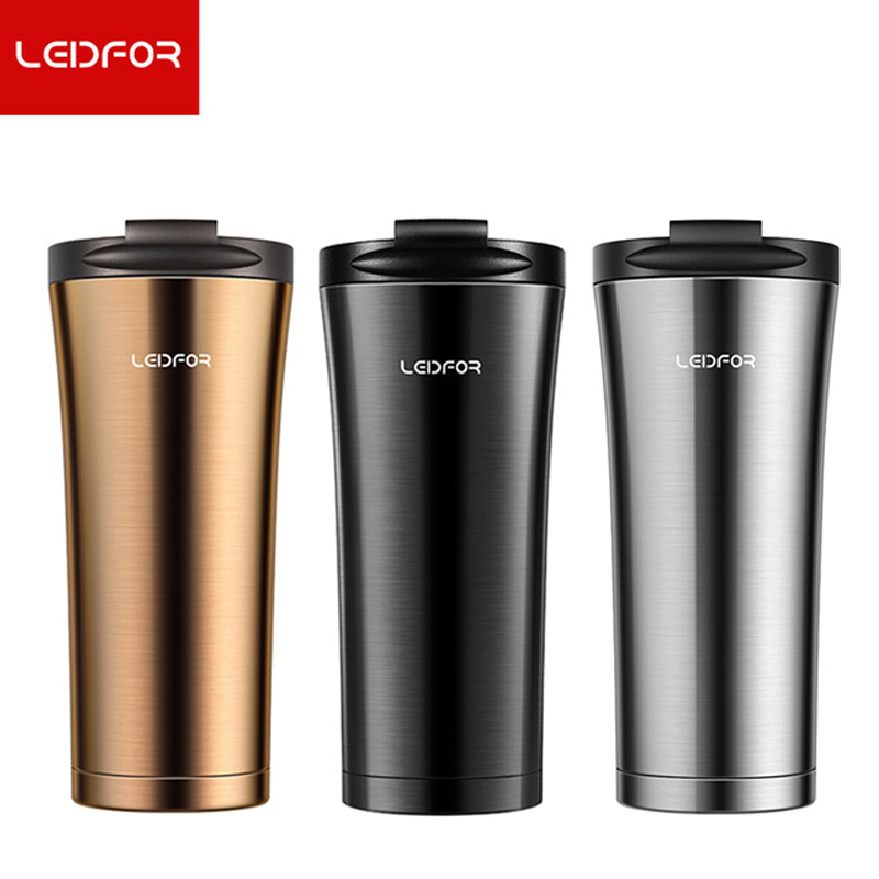 [해외]Leidfor 커피 머그잔 우유 무민 단열 된 구리 스테인레스 스틸 진공 플라스크 자동차 열 온수 병 커피 컵 맥주 머그잔/Leidfor Coffee Mug Milk Moomin Insulated Copper Stainless Steel Vacuum Flask