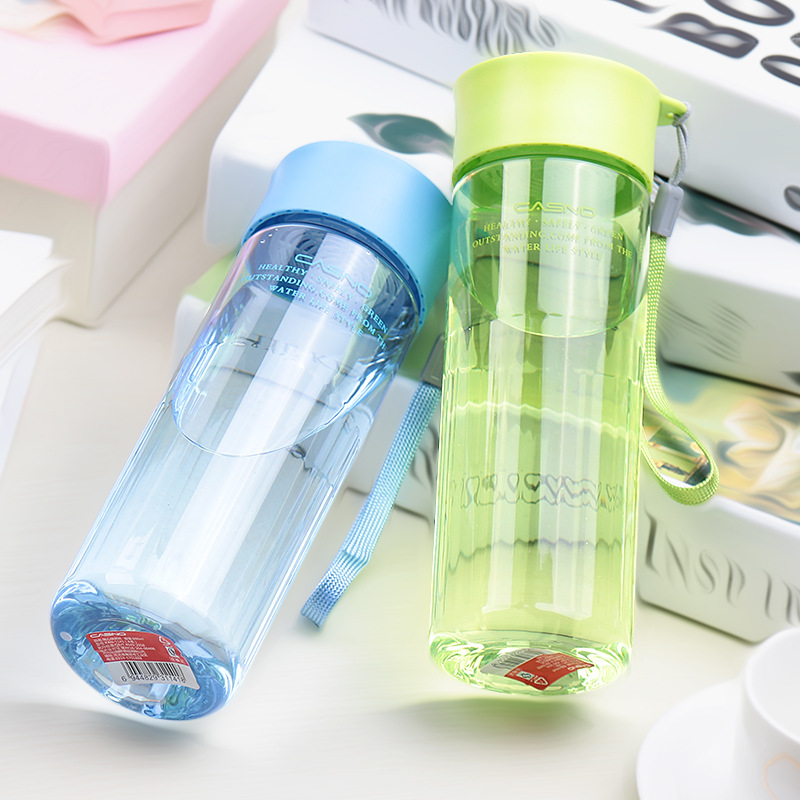 [해외]PURANKA 나의 선물 물 병 600ML 투어 야외 스포츠 학교 누출 증거 물병 플라스틱 Tritan Drinkware BPA 무료/PURANKA My Gift Water Bottles 600ML Tour Outdoor Sport School Leak Proo