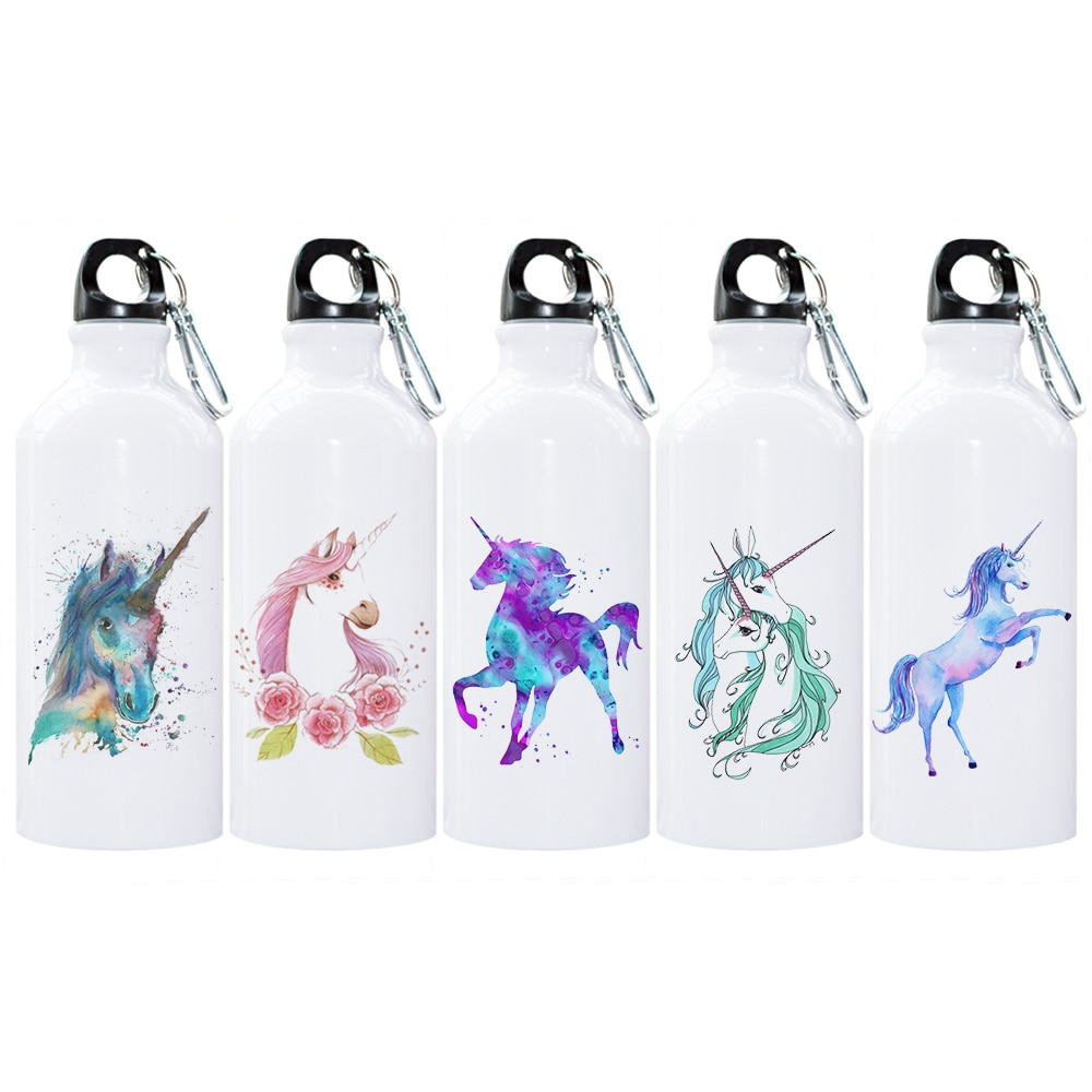 [해외]야외 스포츠 야영 캠핑을유니콘 사진 물 BottleCarabiner/Unicorns Photo Water BottleCarabiner for Camping Outdoor Sport Camping Canteens