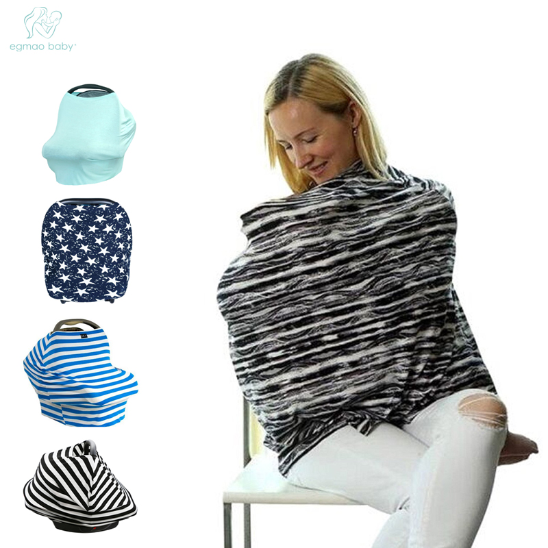 [해외]EGMAOBABY Fshion 베이비 유모차 후드 베이비 카시트 커버 모유 수유 커버 수건 커버 바람 썬 와이퍼/EGMAOBABY Fshion Baby Stroller  Hood Baby Car Seat Covers Breastfeeding Nursing Cov