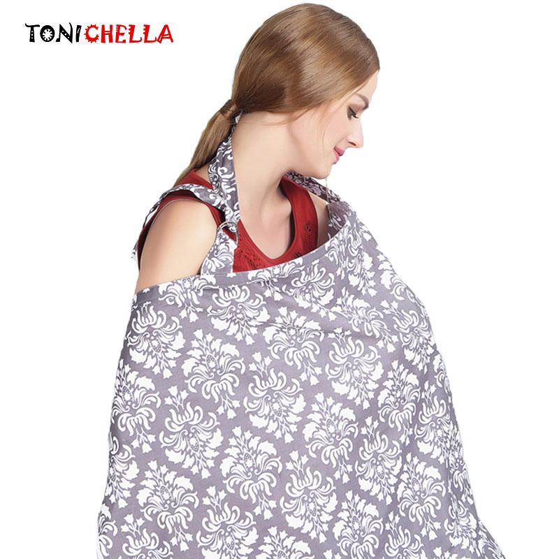 [해외]통기성 수유 커버 유아 수유 간호 커버 코튼 무명 엄마 & 옥외 수유 간호 커버 T0379/Breathable Breastfeeding Cover Infant Feeding Nursing Cover Cotton Muslin Mommy&s Outdoors