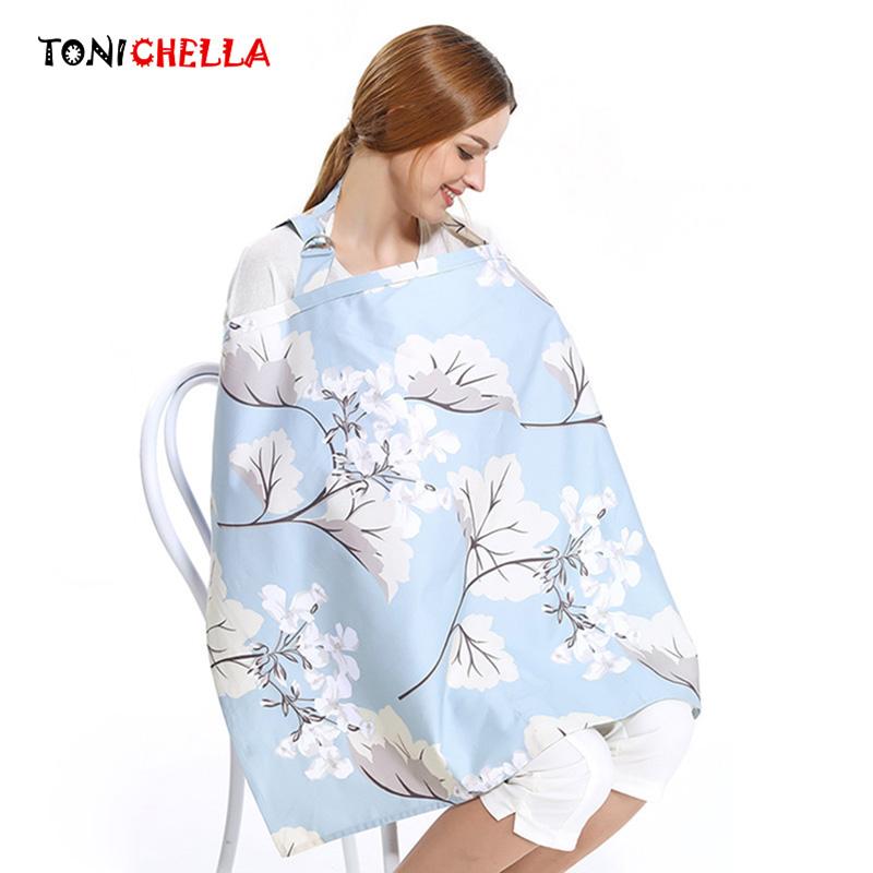 [해외]코 튼 어머니 모유 수 유 커버 간호 커버 가변 Neckline 아기 수 유 제품 어깨 셸 유 방 수 탉 T0890/Cotton Mother Breastfeeding Cover Nursing Covers Adjustable Neckline Baby Feeding