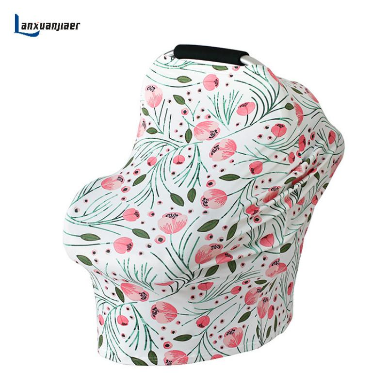 [해외]새로운 다용도 신축성 인피니티 스카프 베이비 카 시트 커버 간호 커버 모유 수유 쇼핑 카트 커버 하이 체어 커버/New Multi-Use Stretchy Infinity Scarf Baby Car Seat Cover  Nursing Cover Breastfeed