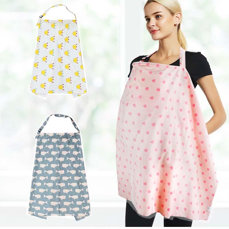 [해외]모유 수유 커버 아기 유아 통기성 면화 모슬리 간호 천 L 대형 큰 간호 커버 먹이 커버 100 * 70cm/Breastfeeding Cover Baby Infant Breathable Cotton Muslin nursing cloth L large size b