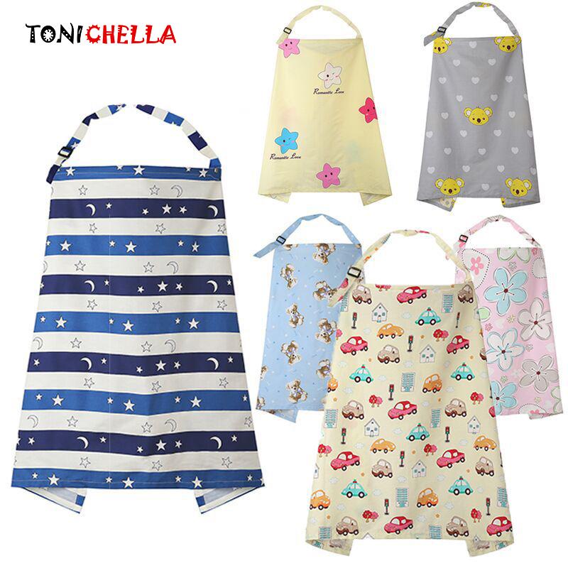 [해외]통풍 아기 수유 간호 커버 엄마 수유 간호 판초 커버 코 튼 조정 가능한 Neckline 커버 T0893/Breathable Baby Feeding Nursing Covers Mum Breastfeeding Nursing Poncho Cover Up Cotton