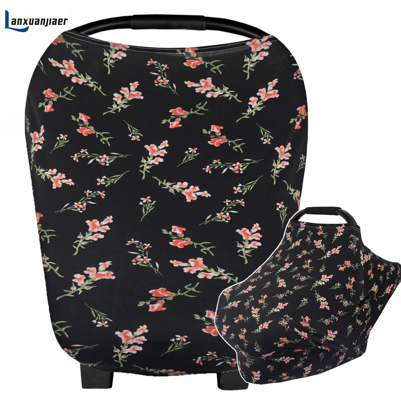 [해외]Lanxuanjiaer 베이비 카 시트 커버 간호 커버 자동차 좌석 캐노피 커버 다목적 유아 쇼핑 카트 높은 의자 유모차 목도리/Lanxuanjiaer Baby Car Seat Cover Nursing Cover Car Seat Canopy Covers Mult