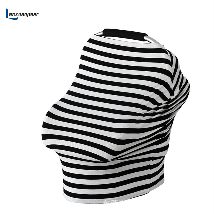 [해외]아기 자동차 좌석 커버 캐노피 간호 커버 다용도 스트레치 무한 스카프 모유 수유 쇼핑 카트 커버 높은 의자 커버/Baby Car Seat Cover Canopy Nursing Cover Multi-Use Stretchy Infinity Scarf Breastfe